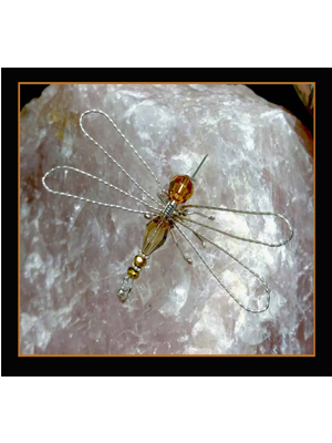 Class: Crystal Dragonfly Brooch, 1:00-6:00pm